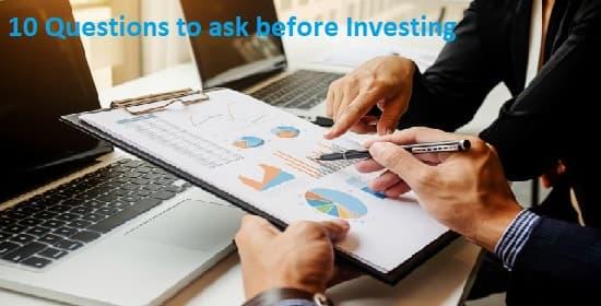 10 Questions before Start Investing