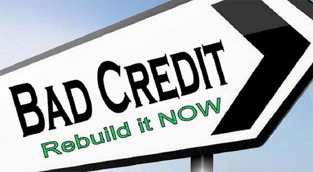 Bad Credit Rebuilt it Now