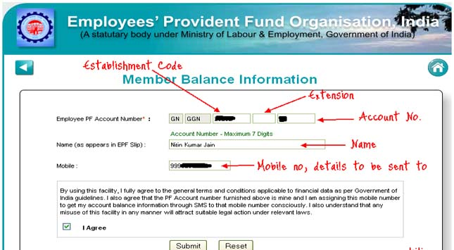 Check PF Balance & EPFO Account Status