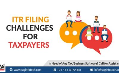 ITR Filing Challenges for Taxpayers