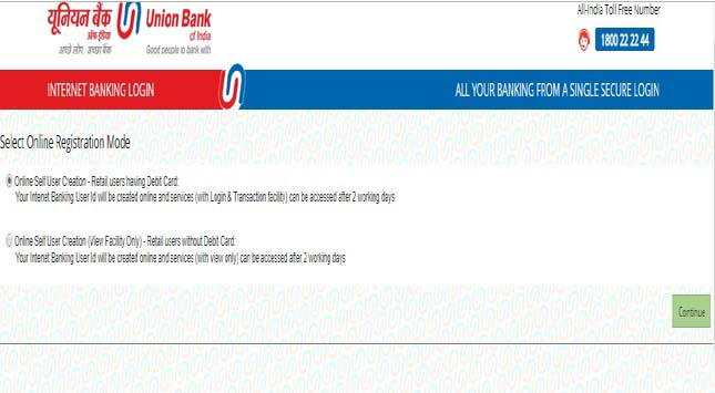 Union Bank of India Net Banking: UBI Internet Banking & Online Banking